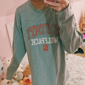 nc state long sleeve top